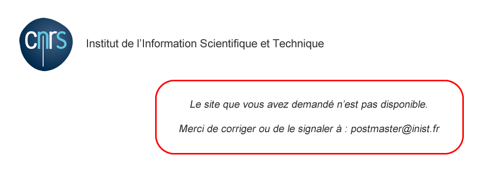 Institut de l'information scientifique et technique